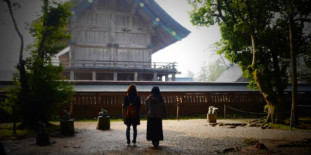 Japan Shimane [IZUMO-CITY] Izumo Taisha Shrine (出雲大社)