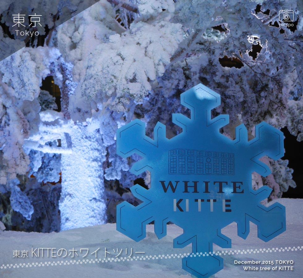 KITTEのホワイトツリー