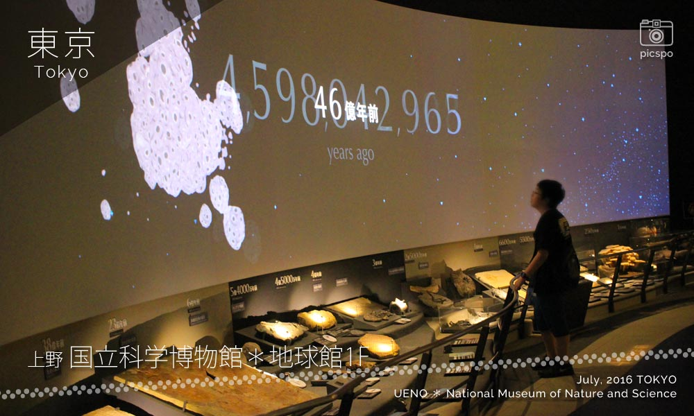 National Science Museum, Global Gallery (地球館) 1F